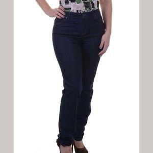4/$25 NEW Charter Club Women Slim Leg Dark Jeans 4